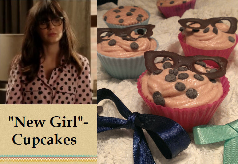 New Girl Cupcakes