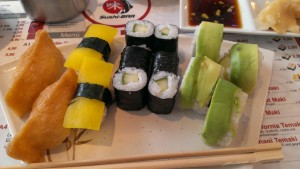Veganes Sushi in Mannheim