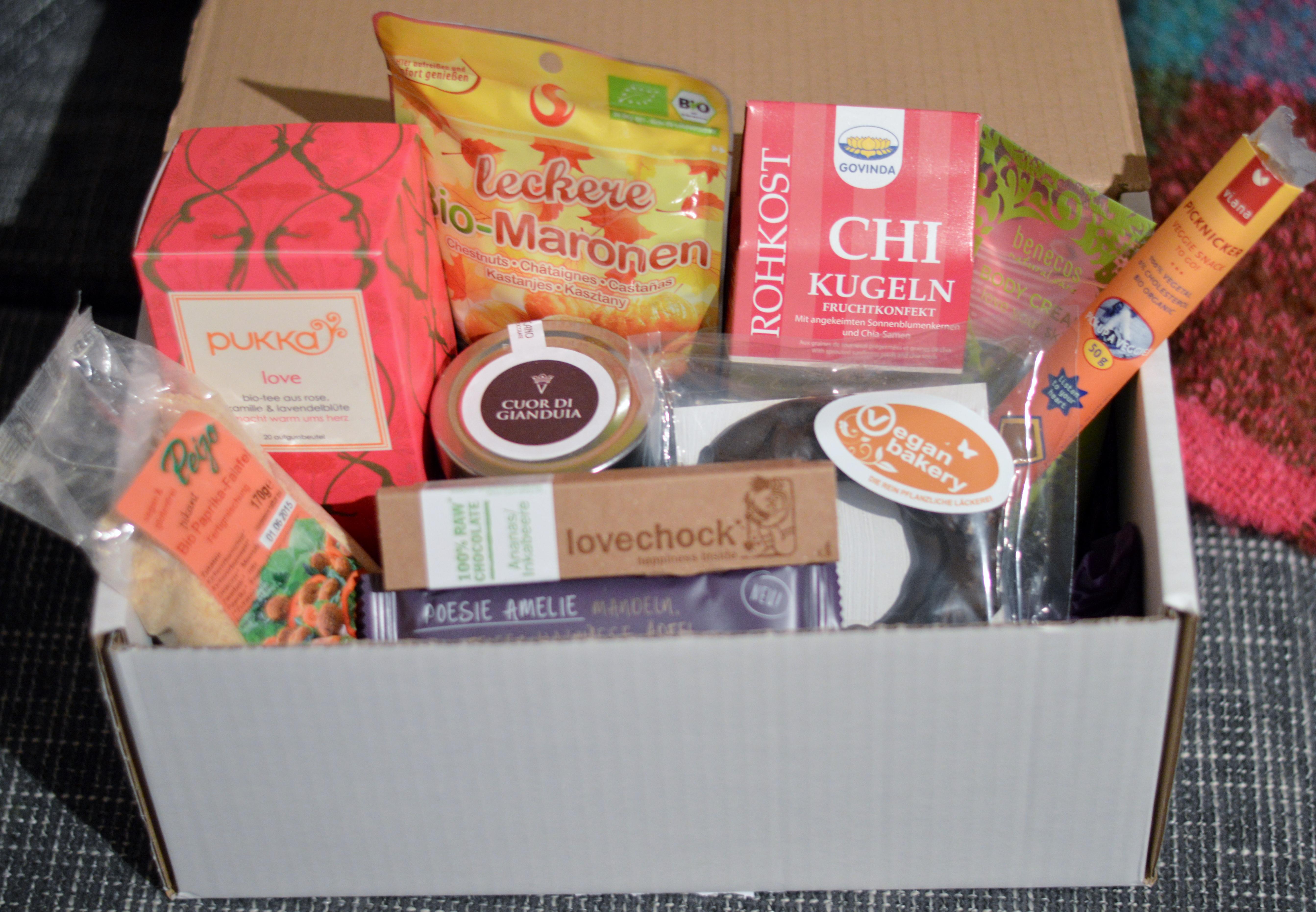 Vegan Box Dezember