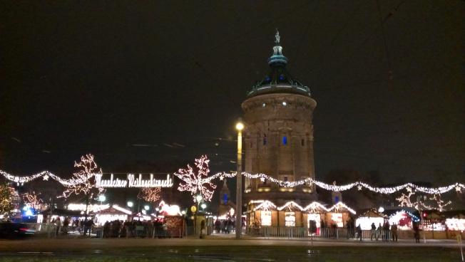 Weihnachtsmarkt Wasserturm