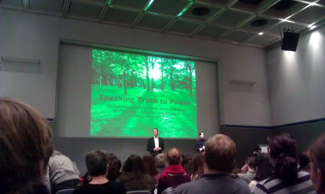 Melanie Joy Speaking Truth to Power Veggie World Wiesbaden