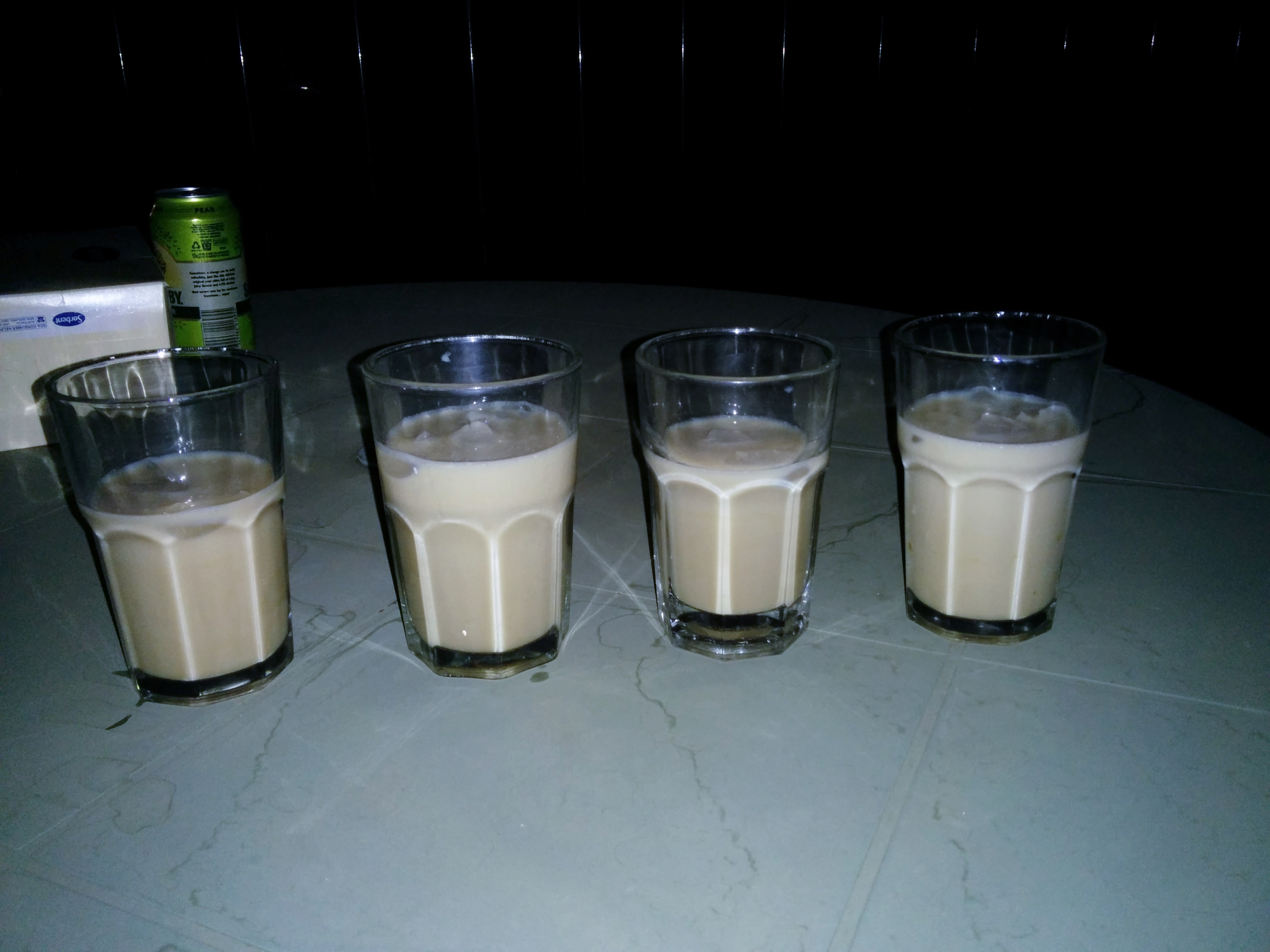 Vegan White Russian with Bonsoy Milk