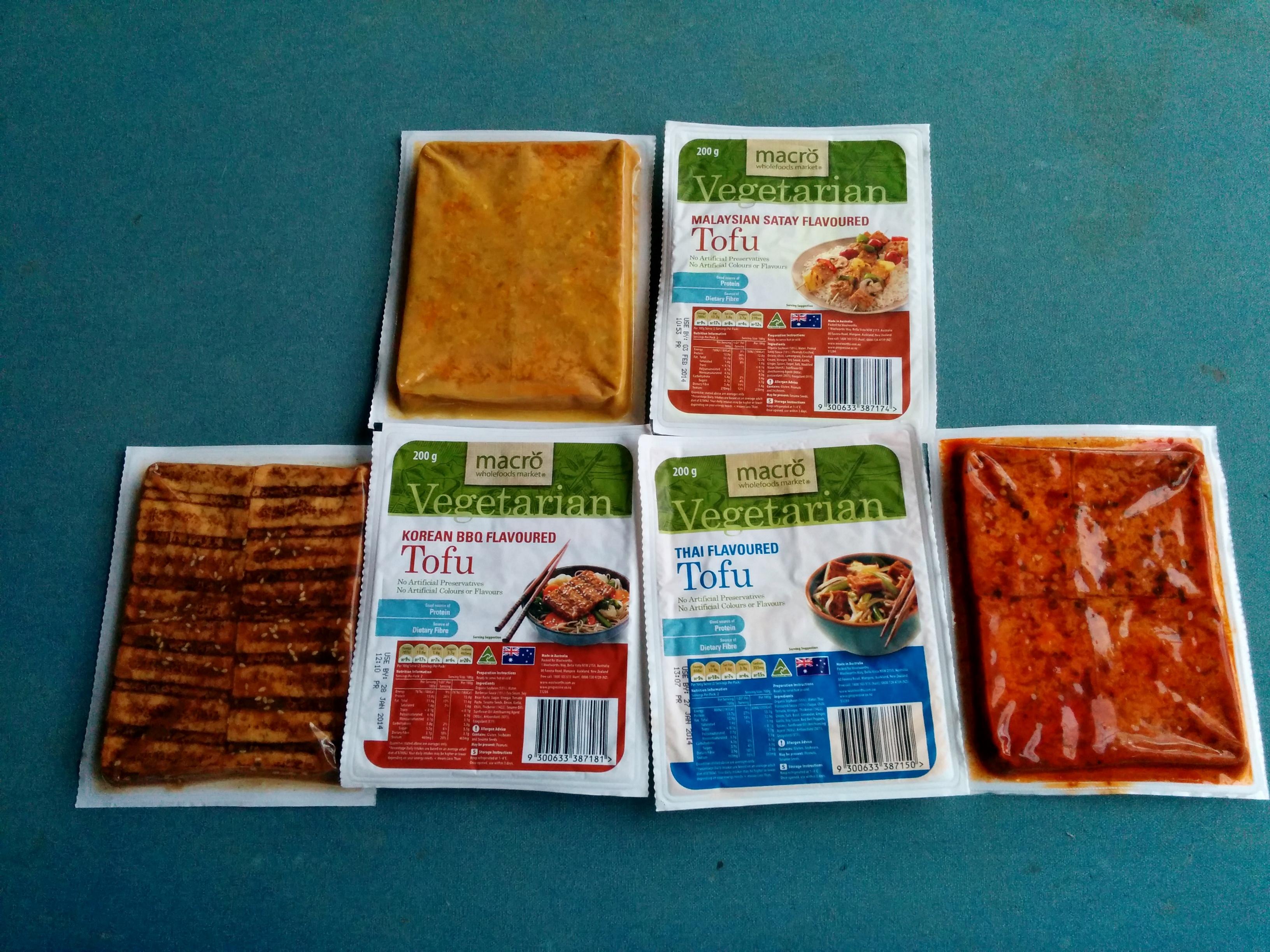 Tofu vom australischen Supermarkt