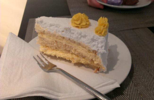 Mango-Sahne-Torte