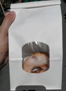Veganer Donut