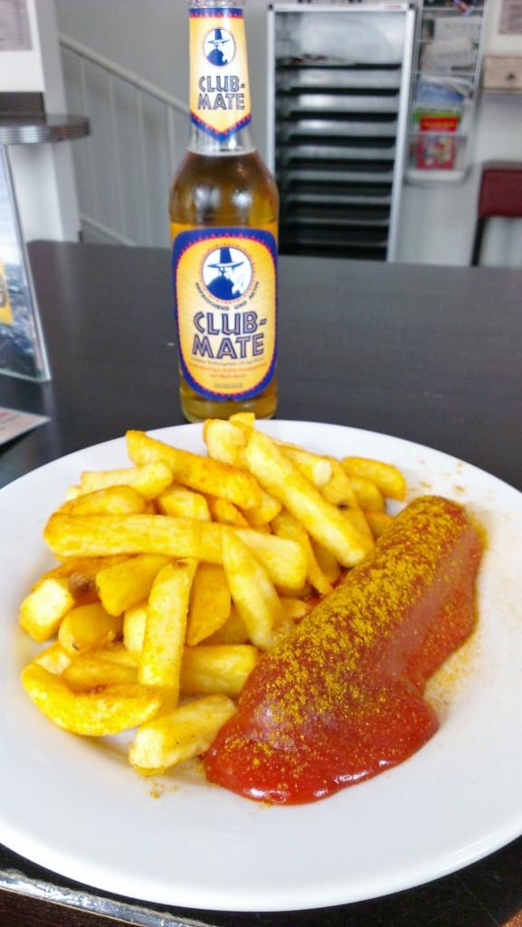 vegane Currywurst beim Scharfrichter Bremen