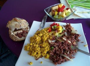 veganer Brunch Café Gleichklang Hannover