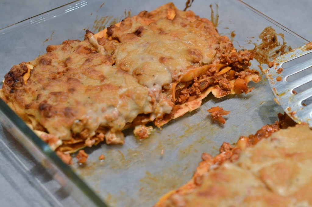 Vegane Tofu Lasagne Rezept