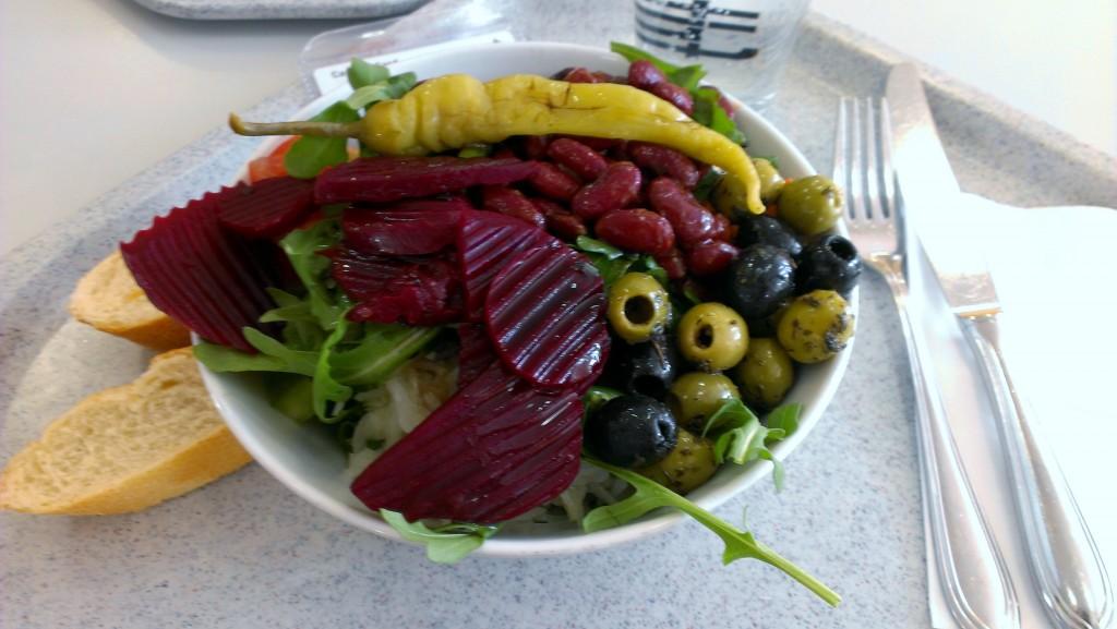 vegan Mensa essen Mensaessen Salat