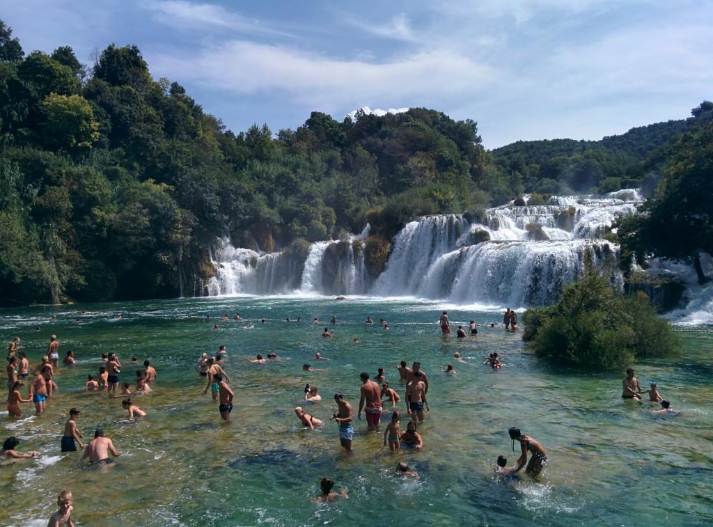 Slapovi Krke, Kroatien