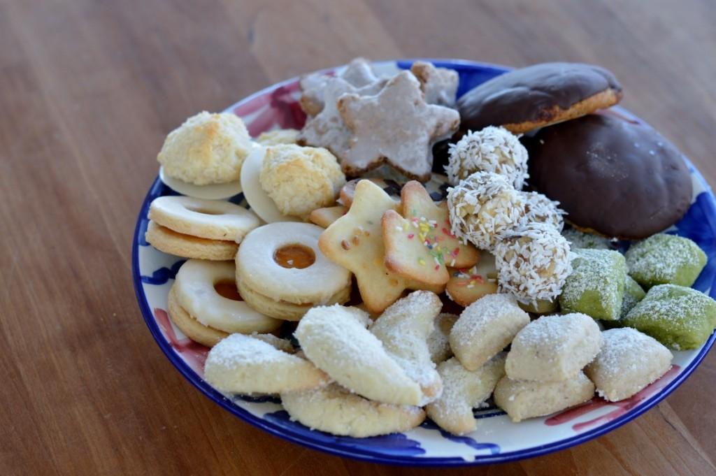 Vegane Weihnachtsplätzchen Kekse