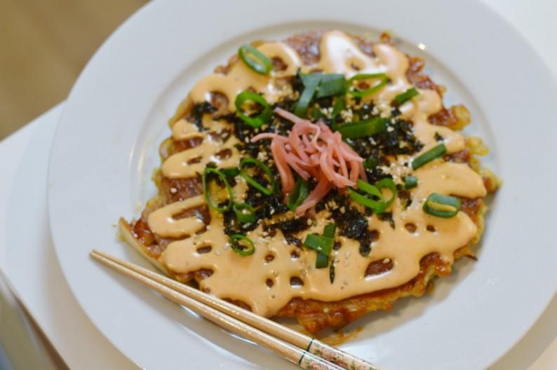 お好み焼き- vegane Okonomiyaki
