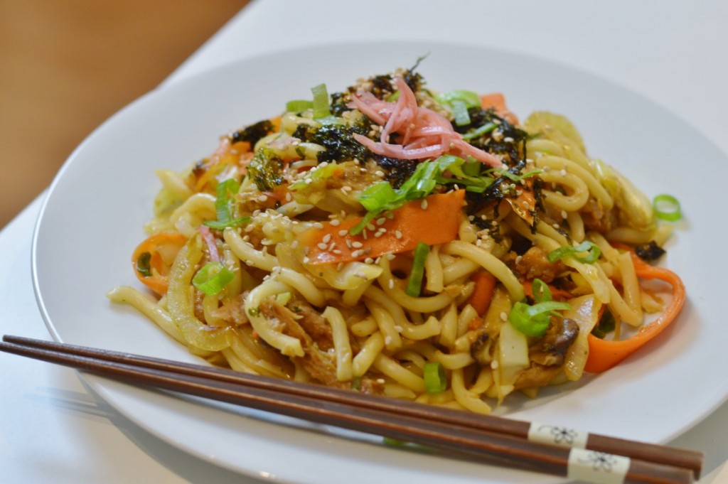 Rezept: 焼きうどん – Yakiudon vegan