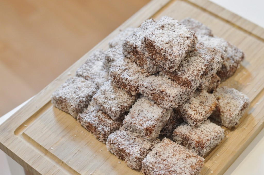 Rezept: vegane Lamingtons | Avilia's Way
