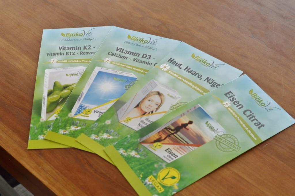 Gesundheit: Vitamin B12 von BjökoVit  vegan Ergänzungsmittel Supplement