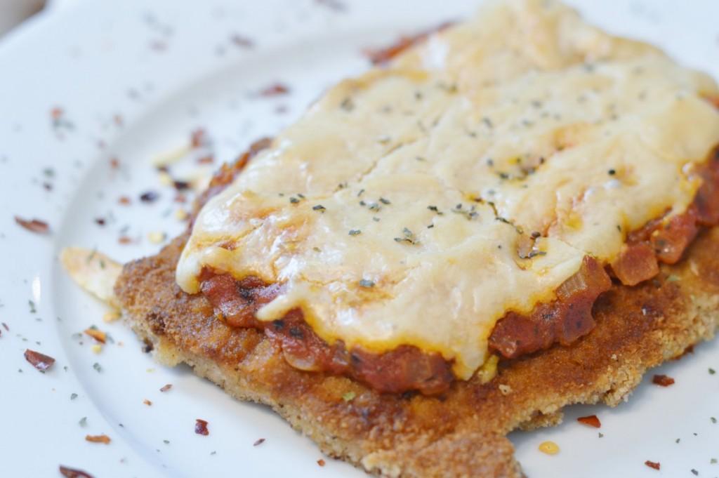 Rezept: Veganes Schnitzel Parmigiana
